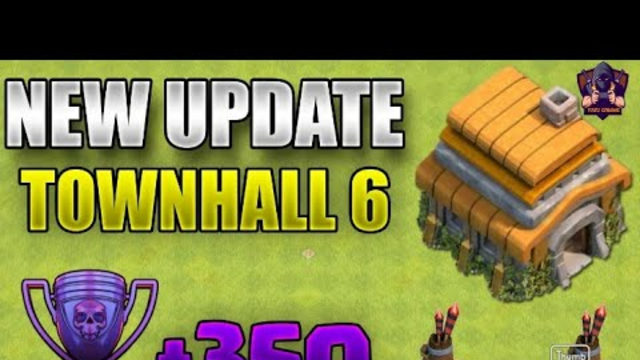COC th6 ungraded /clash of clans videoclash of clans