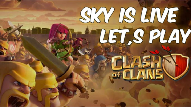 CLASH OF CLANS LIVE||LET'S VISIT YOUR BASE||GOLD PASS GIVEAWAY