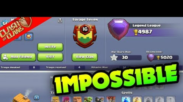 TH6 world record | TH6 sigh up to legend league | TH6 legend pushing attack replay | clash of clans
