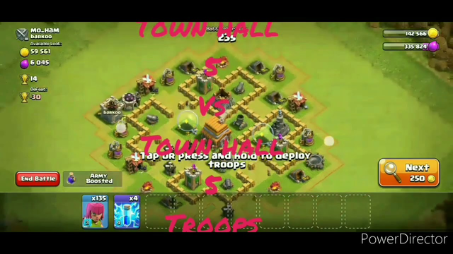 135 archers attack || Town hall 5 perfect troops || clash of clans