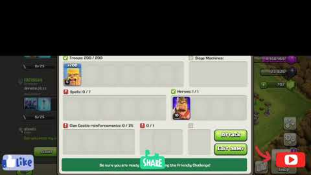 Clash of clans/Loons top secret for town hall 6.