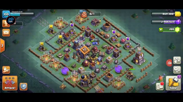 Clash of Clans Live 1 st time