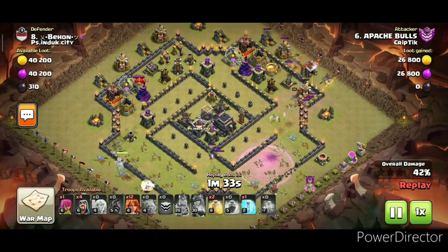 I modified the old beast strategy and then...........  Clash of clans - COC