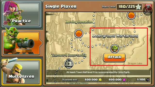 How to 3 star Underground Workaround clash of clans gameplay with new update | Club Aakash