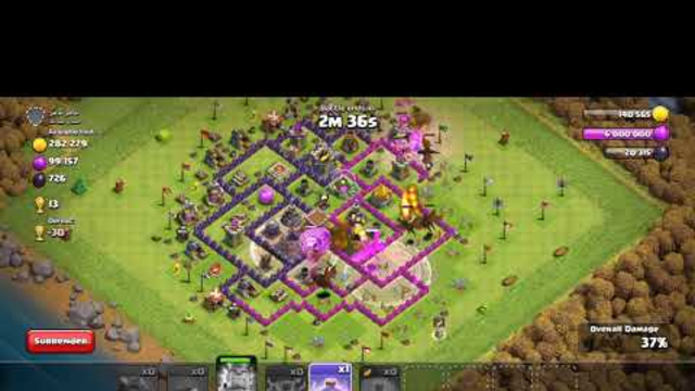 Clash of Clans 3 star attack strategies