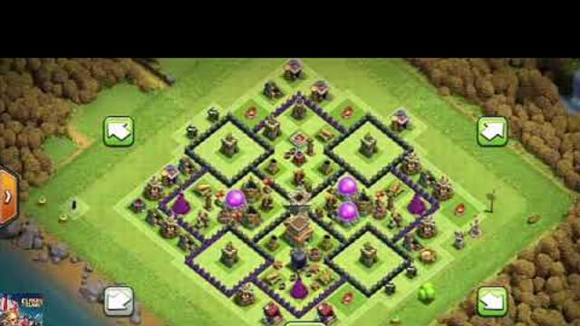 Clash of Clans - Townhall8 - Anti Three Star COC Base  - War Base