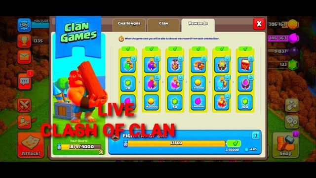 clash of clan - clash of clan live - coc livestream