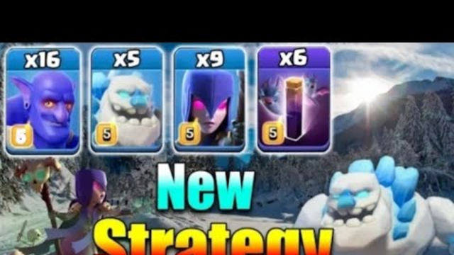 TH13 BEST ATTACKS | ICE GOLEM +WITCH + BOWLER | TH(TOWN HALL)NEW STRATEGY OF 2020 | Clash of Clans |