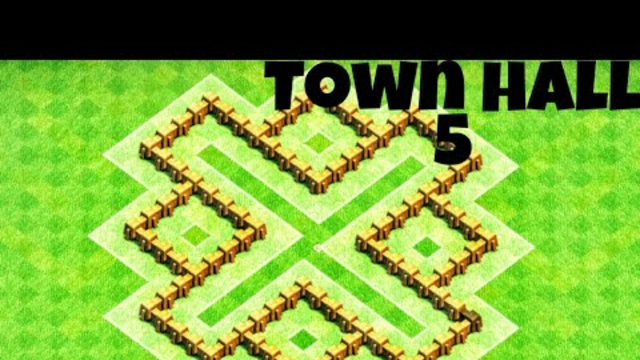 Clash of clans Town hall 5