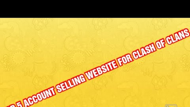 Top 5 Website Where You Can Buy Clash Of Clans Account