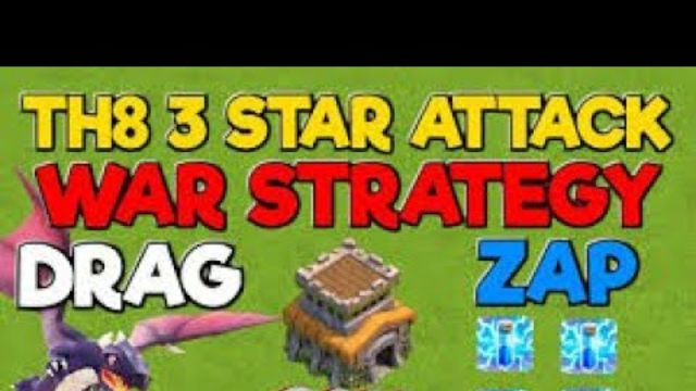 Every ONE Should Know This !! TH8 ZAP DRAGLOON Attack Strategy - Best TH8 Attack Strategies in CoC