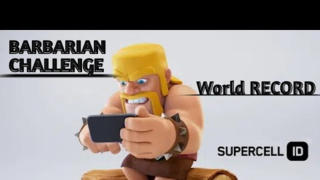 Barbarian challenge complete in clash of clans !! Th5 Atteck on barbarian !! Barbarian Atteck in coc