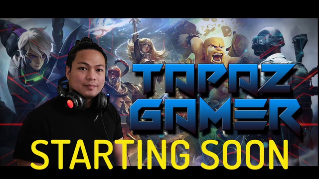 2nd day live dikitan while playing Clash of clans with oldies dance music