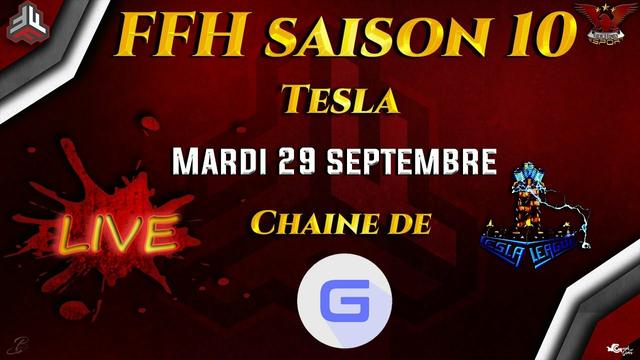Tinkmaster vs Crash of Clans  & Black Night vs 4Aklisme | Ligue Tesla FFF Clash of Clans