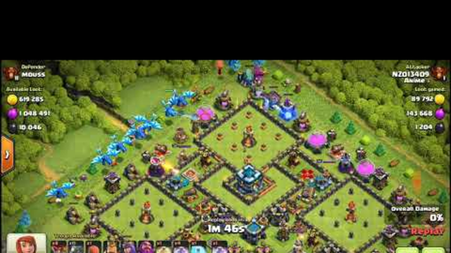 clash of clans 1mil elixer loot