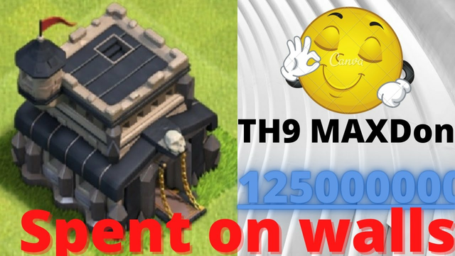 Th9 Max including walls| 6 months Journey|COC- Clash Of Clans(Hindi)
