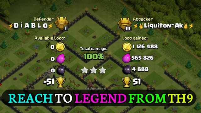 Reach to LEGEND From TH9 | Pushing from Th9 | Episode - 1 | Clash of Clans