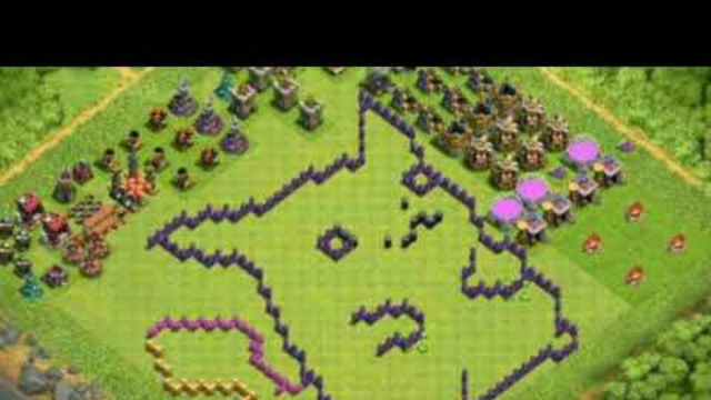 Th 8 fun bases in coc | clash of clans fun bases