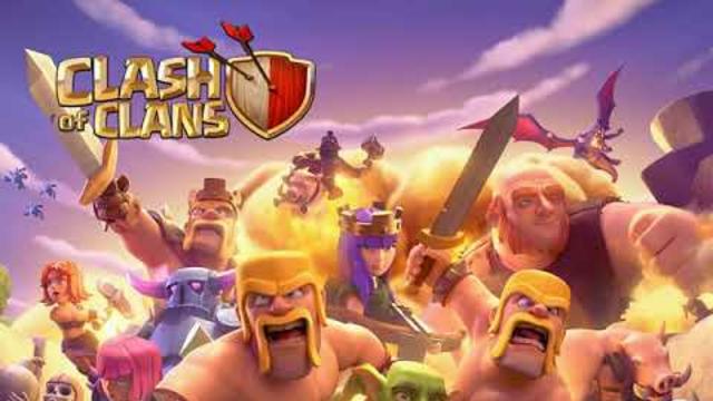 Jugando batalla |clash of clans |hablando