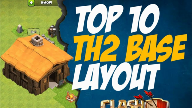 Best TH2 Base Design/Layout | Farming/Trophy Push | Clash of Clans