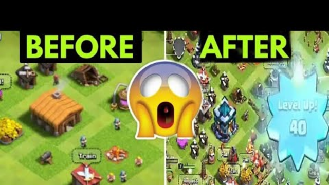 From Town Hall 1 To Max Town Hall 13 in 16 minutes and HOW !!! | Clash Of Clans | CoC