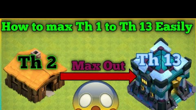 2020 MAX Town hall 2 to 13 in Clash of clans! All building and all troops ( Gamer Satan)