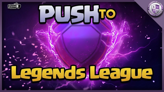 CLASH OF CLANS Trophies Push to LEGEND LEAGUE LIVE WITH DarknessKING Gaming   #COC #Clash_of_Clan