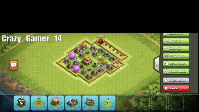 Clash of Clans | Town hall level 5 Easy base | 2020 | Crazy_Gamer_14