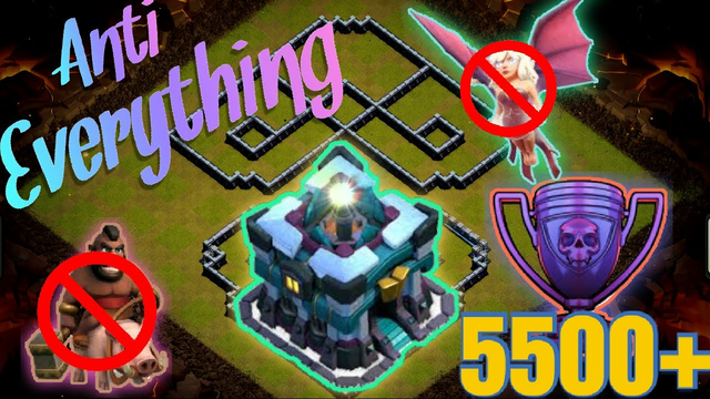 BEST TH13 WAR/TROPHY BASE + PROOF   Town Hall 13 ANTI 3 STAR Base with LINK 2020   Clash of Clans