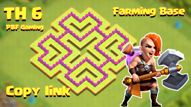 NEW BEST TH6 Base 2020 | TH6 Farming Base with Copy Link - Clash of Clans 2020 | PBF Gaming