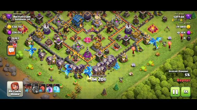 Clash of Clans | 100%attack coc | new clash of clans gameplay | games all bd