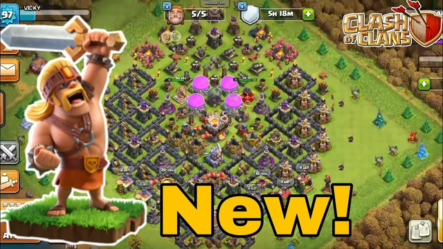 New Barbarian king clash of clans / Vicky Sathish Gaming