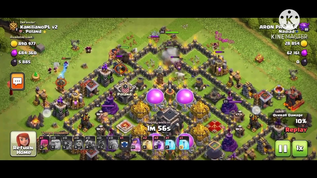 Best Loot for Any TH  Clash of clans  Attack by coc gamer