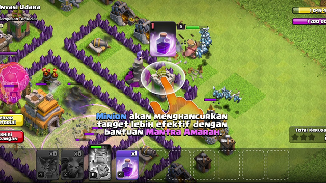 Main Game CLASH OF CLANS