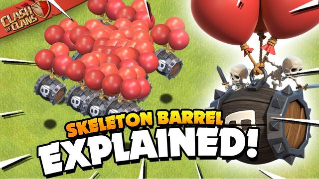 New Skeleton Barrel Troop Explained (Clash of Clans)