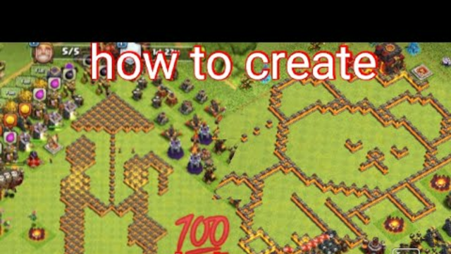 How to create best bases in clash of clans //all townhalls 1,2,3..,12,13