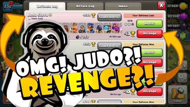 JUDO?! REVENGE? THIS WILL NEVER HAPPEN AGAIN!! Clash of Clans