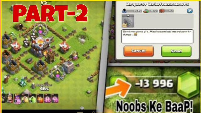 Top 5 Types of NOOBS in Clash Of Clans WHO Really EXISTS in the Game !! NOOBS in Coc  Hindi