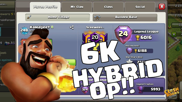 6000+ Op HYBRID LEGEND ATTACKS | TH13 ATTACK STRATEGY | CLASH OF CLANS |