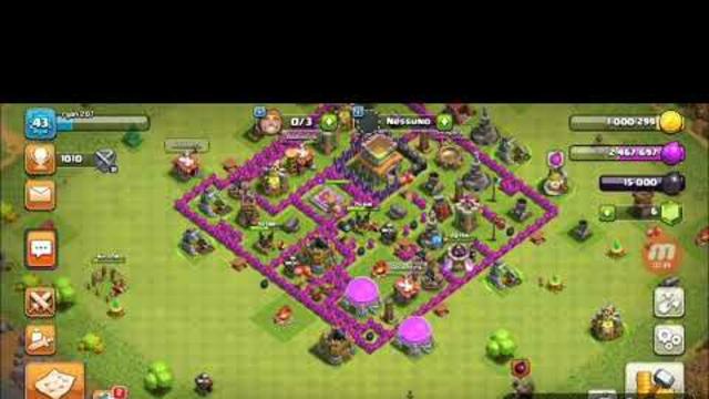 Arriviamo alle 1000 trofei su clash of clans
