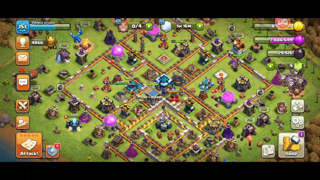 CLASH OF CLANS LIVE || BASE VISITING || FARMING || PUSHING || COC LIVE