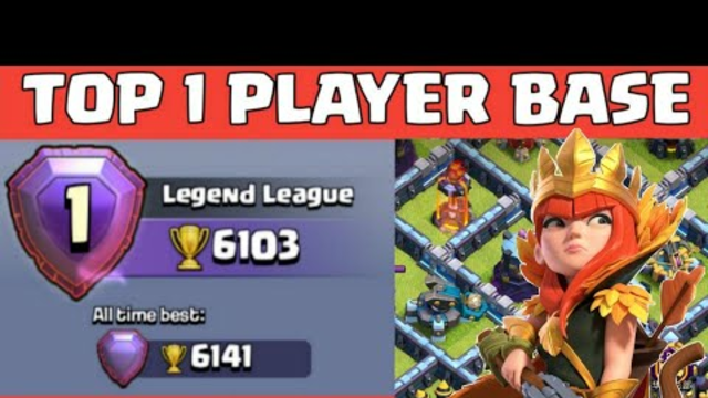 Th13 Global Top Player Base With Link (2020) | Th13 Trophy Base | Clash Of Clans - coc