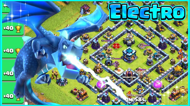 Legend League Attacks! Electro Dragon Attack Strategy! TH13|Clash of Clans