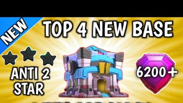New Top 4 | Th13 War Base Anti 2 Star With Link [2020] Town Hall 13 Base Anti 2 Star With Link - Coc