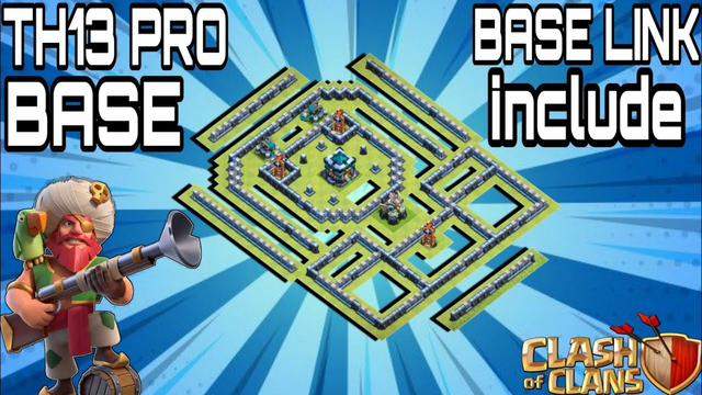 SUPERB! Town Hall 13 (TH13) Base | With TH13 Base Link | Clash of Clans !! Clash Affairs 2020