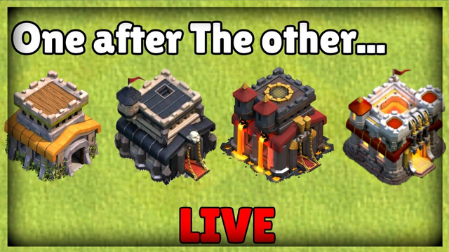 One After The Other-Clash of Clans! INDIAN CLASHER