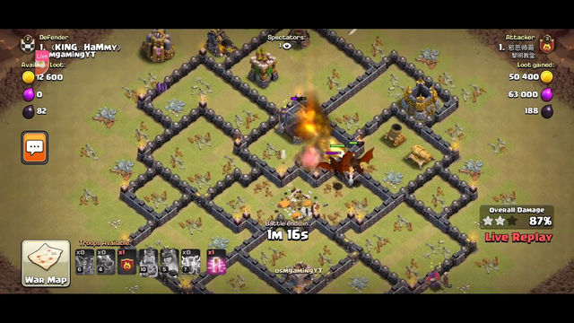 [clash of clans] Chalo war me kare Rada #shreemanarmy #coc #supercell
