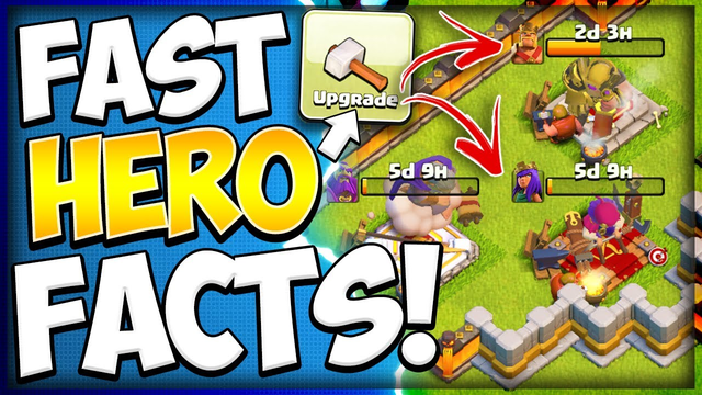 Here's The Truth About Fast Hero Upgrading! How to Upgrade Heroes as a Rushed TH13 in Clash of Clans