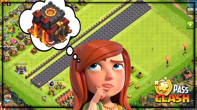 Almost Town Hall 10 - ALREADY? Gold Pass Clash of Clans