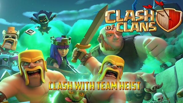 CLASH OF CLANS  live stream | clans games challenge |Fun with TEAM HEIST
